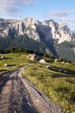 Mountain chalet Stock Photos