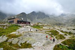 Mountain chalet. Royalty Free Stock Images