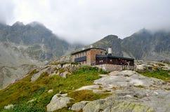 Mountain chalet. Royalty Free Stock Photos