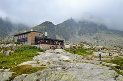 Mountain chalet. Royalty Free Stock Photography