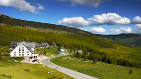 Mountain Chalet Stock Photos