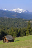 Mountain chalet in Tatras Royalty Free Stock Photography