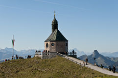 Mountain Chapel Stock Photography