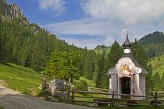 Mountain Chapel on Pürschling Royalty Free Stock Photo