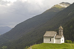 Mountain Chapel in Virgen Stock Photos