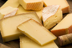 Mountain Cheese Colletion Royalty Free Stock Photo