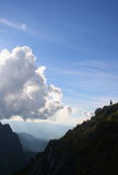Mountain in Chiang Mai Stock Image