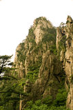 The mountain, china. The worldwide famous peaks of Huangshan in China Stock Photo