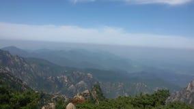 Mountain#China di Huangshan Fotografia Stock