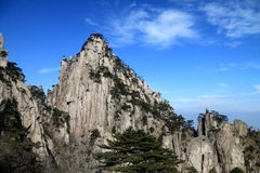 Mountain in China Royalty Free Stock Photo