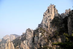 Mountain in China Royalty Free Stock Images