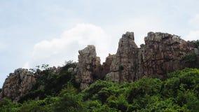 Mountain. In chonburi Thailand name Khao Sam Muk Stock Photography