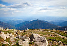 From Mountain Chopok In Low Tatras Royalty Free Stock Photo