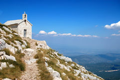 Mountain church Stock Images