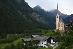 Mountain church Royalty Free Stock Image