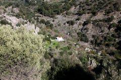 Mountain Church, Crete Stock Image