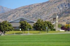 Mountain Church Royalty Free Stock Photo