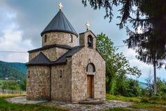 Mountain church. Near waterfall Sopotnica, Prijepolje,rnR.Serbia stock image