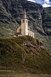 Mountain church Royalty Free Stock Images