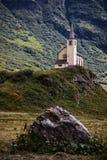 Mountain church Stock Image