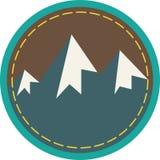 Mountain Circle Stock Photo
