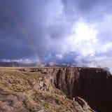 Mountain cliff royalty free stock photo