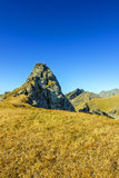 Mountain cliff. View of mountain cliff Stock Photography