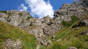 Mountain cliffs landscape Royalty Free Stock Image