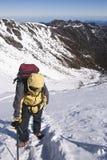 Mountain climber . Royalty Free Stock Photo