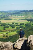 Mountain climber royalty free stock image