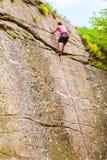 Mountain climber Stock Photo