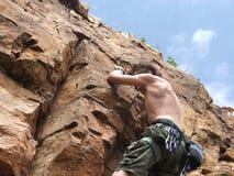Mountain climbing Royalty Free Stock Photo