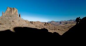 Mountain Climbing Stock Image