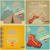 Mountain climbing Royalty Free Stock Photo