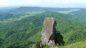 Mountain. Climbing in the Philippines stock photography