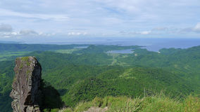 Mountain. Climbing in the Philippines stock image