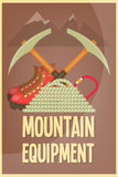 Mountain climbing Royalty Free Stock Image