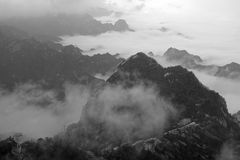 Mountain and cloud Royalty Free Stock Photo