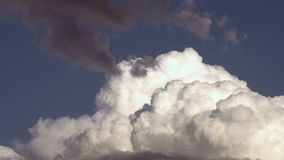 Mountain cloud stock video footage