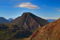 Mountain and Cloud Royalty Free Stock Image
