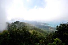 Mountain cloud and Sea Royalty Free Stock Photos