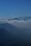 Mountain cloud Stock Image