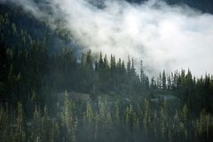 Mountain Clouds Royalty Free Stock Photos