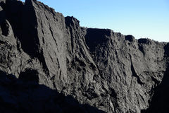 Mountain of coal Stock Photo