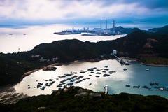 Mountain coast landscape Royalty Free Stock Photography