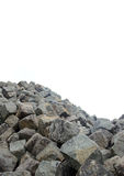 Mountain of cobble stone Stock Photography