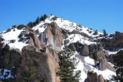 Mountain in Colorado. Peak of a mountain in Colorado Royalty Free Stock Images
