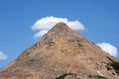 Mountain cone Royalty Free Stock Photography