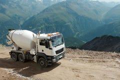 Mountain construction Stock Image