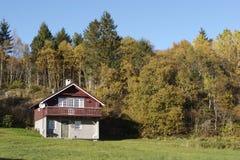 Mountain Cottage. Swiss style Norwegian mountain cottage Royalty Free Stock Photos